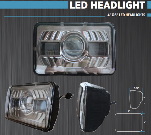 semi truck led headlight from trux save time save money. Black Bedroom Furniture Sets. Home Design Ideas