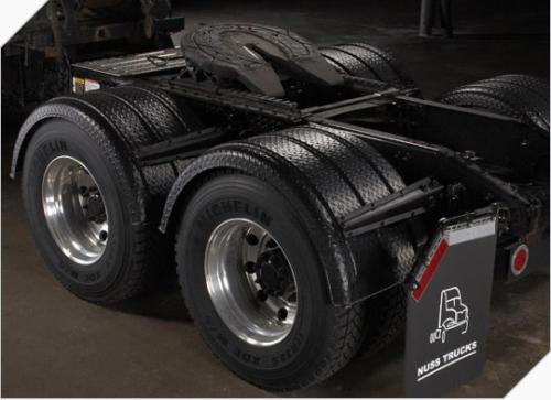 Poly Fenders For Semi Trucks : Minimizer fenders single axle poly