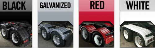 Half Tri Axle Fenders : Minimizer fenders the triple threat