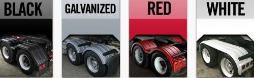 Custom Semi Truck Fenders : Minimizer fenders the half horse