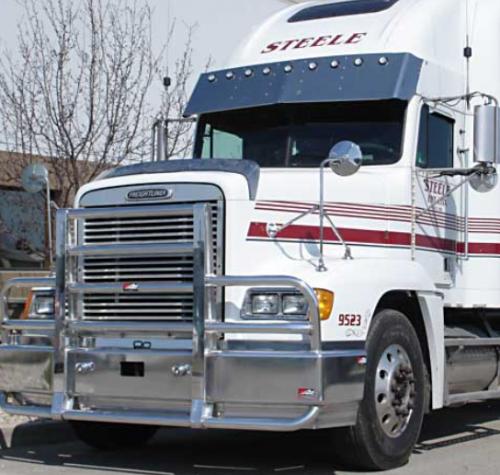 Chrome Bumpers For Fld 120 : Freightliner fld bumper sba heavy duty semi truck