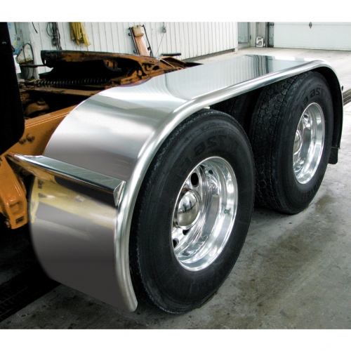 For A Semi Tractor Fenders : Sale on semi truck fenders quality trux f boss smooth