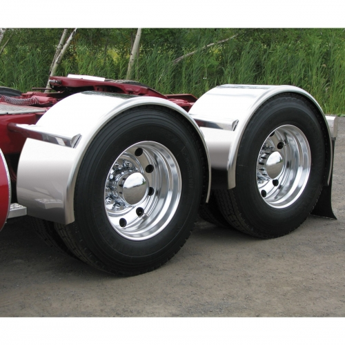 For A Semi Tractor Fenders : Sale on semi truck fenders quality trux s smooth