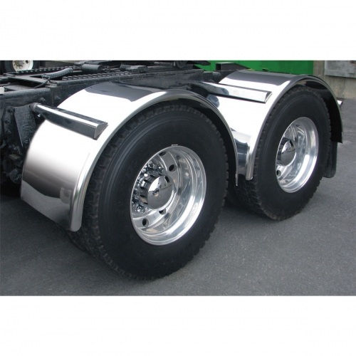 Custom Welded Steel Truck Fenders : Sale on semi truck fenders quality trux s smooth