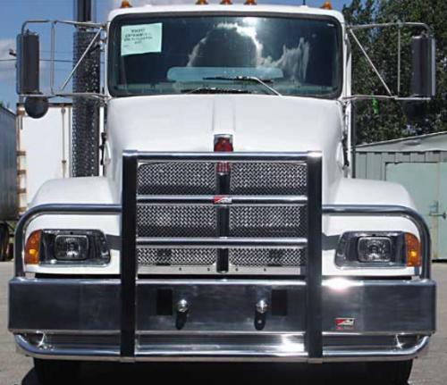KENWORTH T300 Bumper. Heavy Duty Semi Truck Bumper from ALI ARC. 2 Post Deer Protection Semi ...