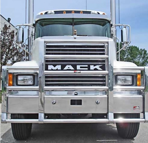 Mack Chn Bumper Set Forward Axle Heavy Duty Semi Truck