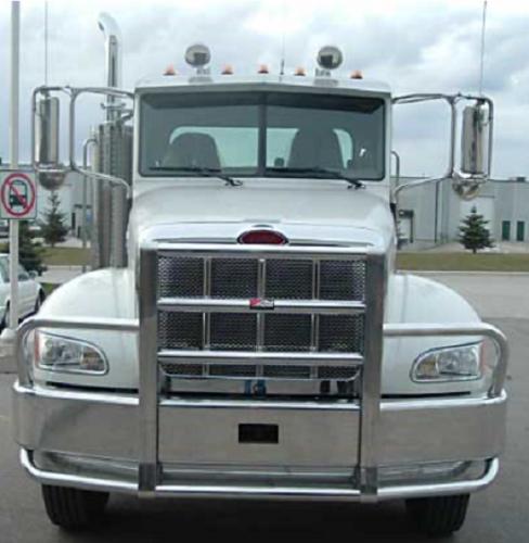 Grill Guards For 379 Peterbilt S : Peterbilt bumper set back axle heavy duty semi truck