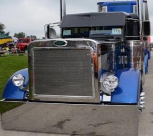Semi Truck Blind Mount Bumper. Custom Blind Mount Bumper
