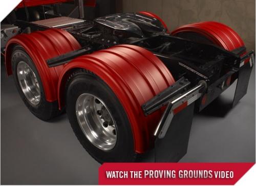 Poly Fenders For Semi Trucks : Semi trucks plastic fenders for