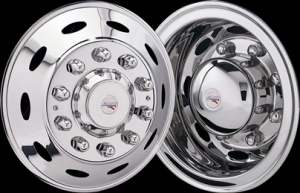 Semi Truck 304 Stainless Wheel Simulators. Real Wheels ...