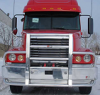 FREIGHTLINER CENTURY Bumper.  Heavy Duty Semi Truck Bumper from ALI ARC.  2 Post Deer Protection Semi Truck Bumper.