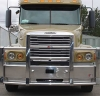 FREIGHTLINER CENTURY Bumper.  Heavy Duty Semi Truck Bumper from ALI ARC.  4 Post Moose Protection Semi Truck Bumper.