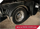 MINIMIZER Fenders.  MINIMIZER 1600 Single Axle Poly Fenders.  Heavy Duty Semi Truck Fenders. In Stock and Ready To Ship FAST.