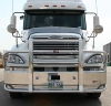 FREIGHTLINER COLUMBIA Bumper.  Heavy Duty Semi Truck Bumper from ALI ARC.  2 Post Deer Protection Semi Truck Bumper.