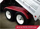 MINIMIZER Fenders.  The Work Horse Fenders.  MINIMIZER 4000 Tandem Axle Poly Fenders. Heavy Duty Semi Truck Fenders. In Stock and Ready To Ship FAST.