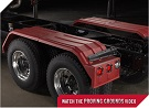 MINIMIZER Fenders.  The Square Back Bruiser Fenders.  MINIMIZER 1500 Tandem Axle Poly Fenders. MINIMIZER 1554 Tandem Axle Poly Fenders. Heavy Duty Semi Truck Fenders. In Stock and Ready To Ship FAST.