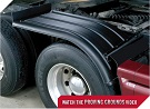 MINIMIZER Fenders.  The Half Horse Fenders.  MINIMIZER 4050 Half Fenders.  Heavy Duty Semi Truck Fenders. In Stock and Ready To Ship FAST.