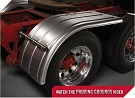 MINIMIZER Fenders.  MINIMIZER 950 Half Fenders.  Heavy Duty Semi Truck Fenders. In Stock and Ready To Ship FAST.