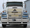 FREIGHTLINER FLC 112 Bumper.  Heavy Duty Semi Truck Bumper from ALI ARC.  2 Post Deer Protection Semi Truck Bumper.