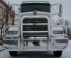 KENWORTH T800 Bumper. EVOLUTION.  Heavy Duty Semi Truck Bumper from ALI ARC. 4 Post Moose Protection Semi Truck Bumper.