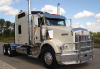 KENWORTH T800 Bumper. Extended Hood Heavy Duty Semi Truck Bumper from ALI ARC. 2 Post Deer Protection Semi Truck Bumper.