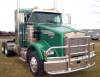 KENWORTH T800 Bumper. SEVERE DUTY Heavy Duty Semi Truck Bumper from ALI ARC. 2 Post Deer Protection Semi Truck Bumper.