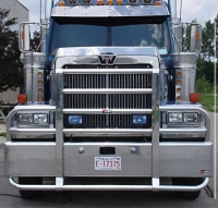 Ali Arc Semi Truck Bumper For Western Star Semi Trucks Heavy Duty