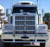WESTERN STAR 4900 FA HIWAY Bumper. Heavy Duty Semi Truck Bumper from ALI ARC. 2 Post Deer Protection Semi Truck Bumper.