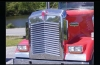 SEMI TRUCK GRILLE KENWORTH W900L ANGLED LOUVERED