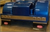 "Semi Truck T Bar | Semi Truck Rear Bumper | FiberTech T Bar | Fiberglass T-Bar | With 6 4"" Light Holes 